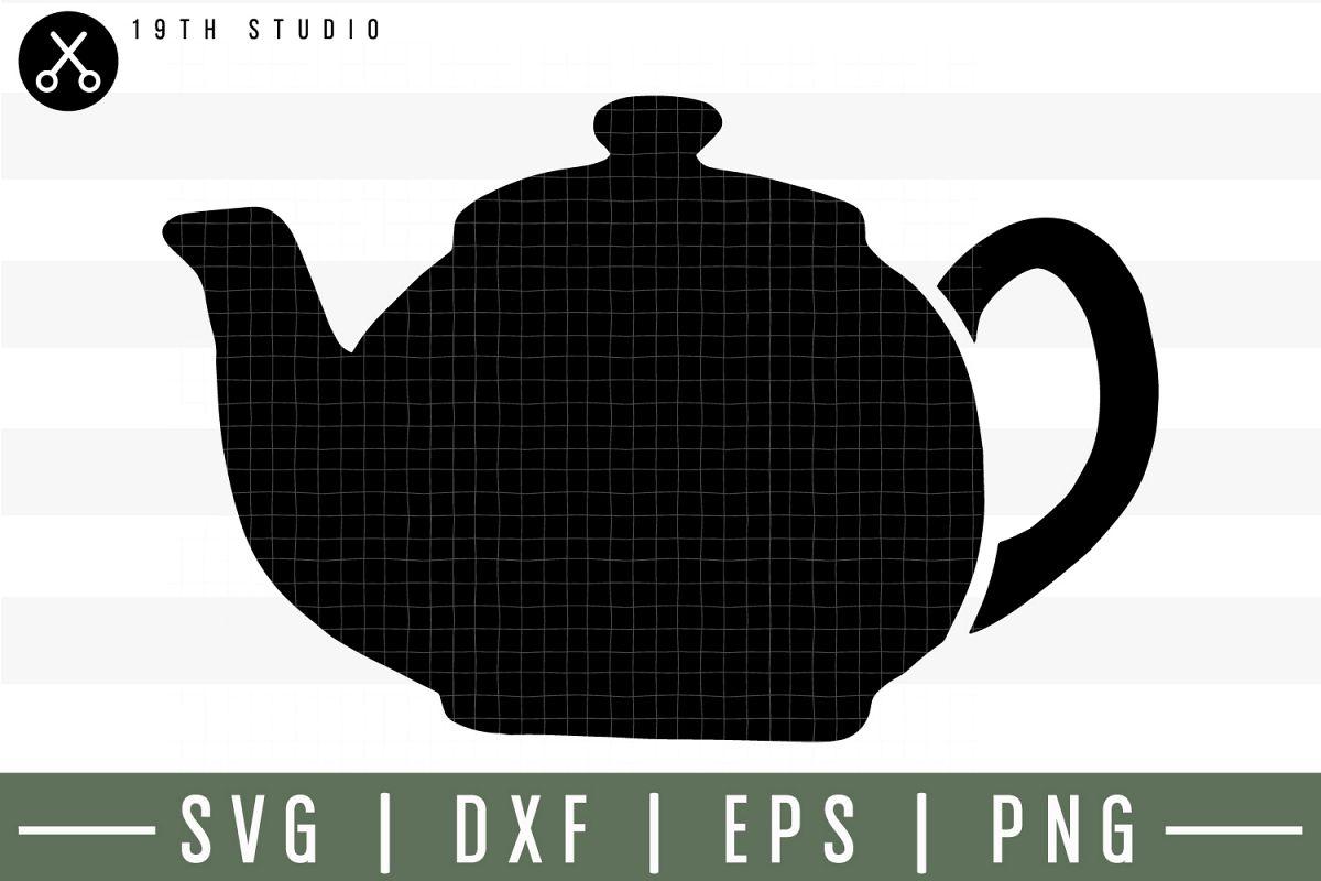 Tea pot SVG| Tea SVG example image 1