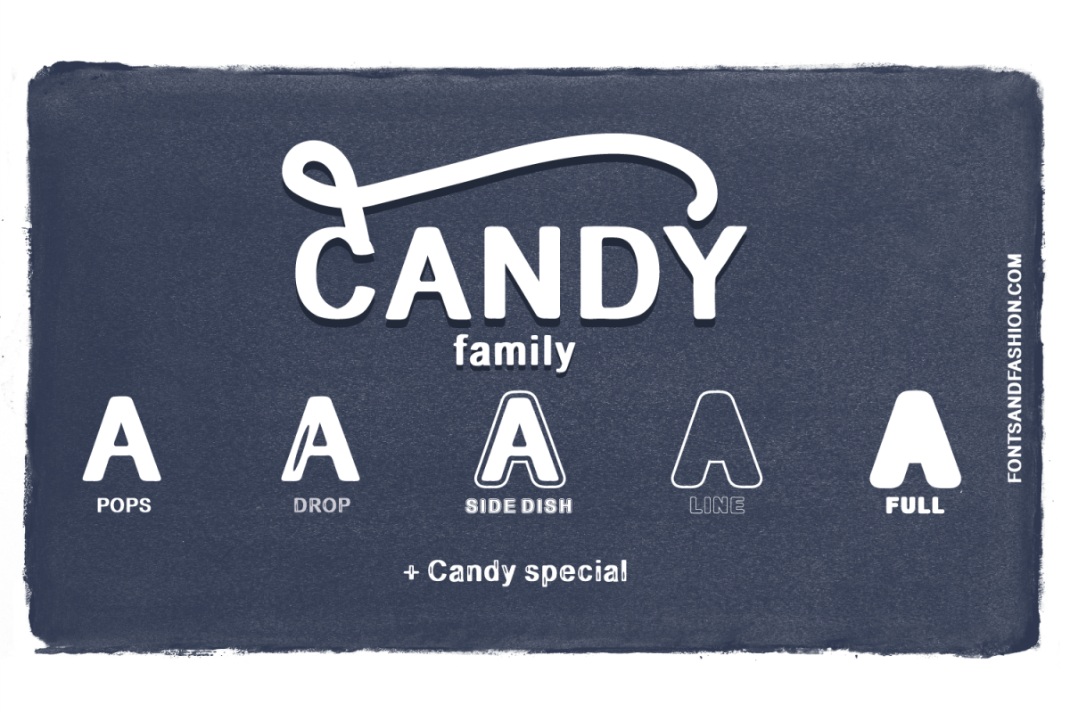 CANDY family example image 1
