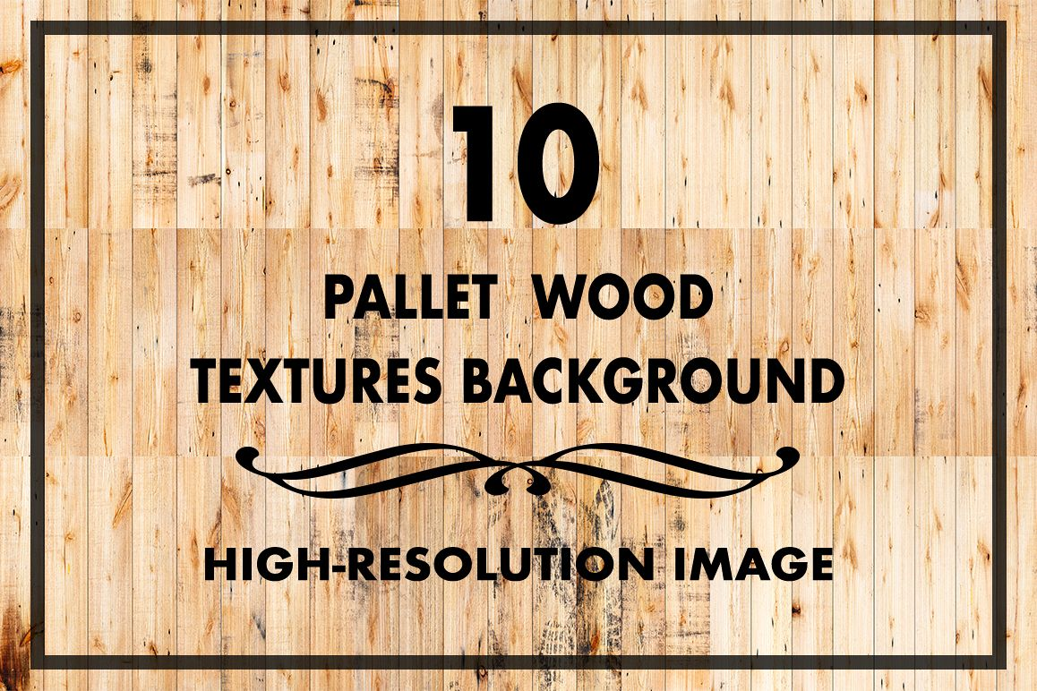 10 Pallet Wood Texture Background Example Image