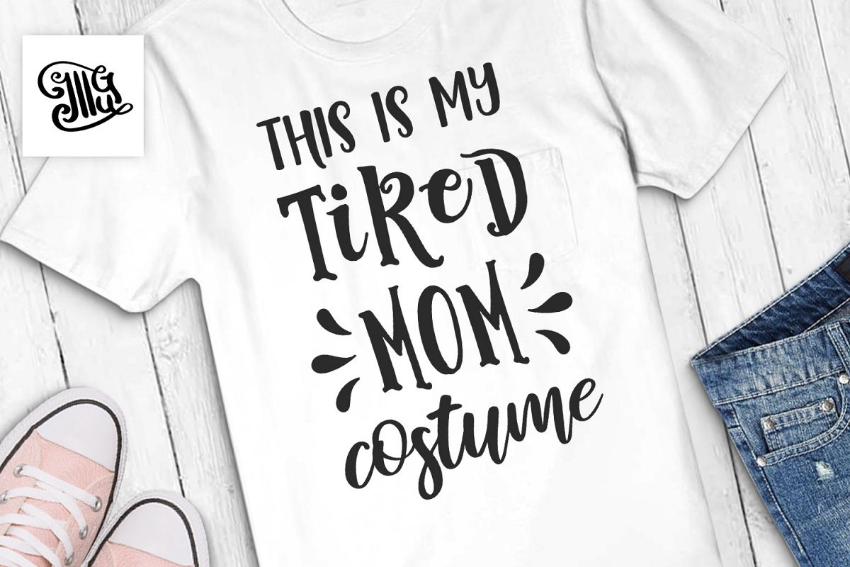 This is my tired mom costume example image 1