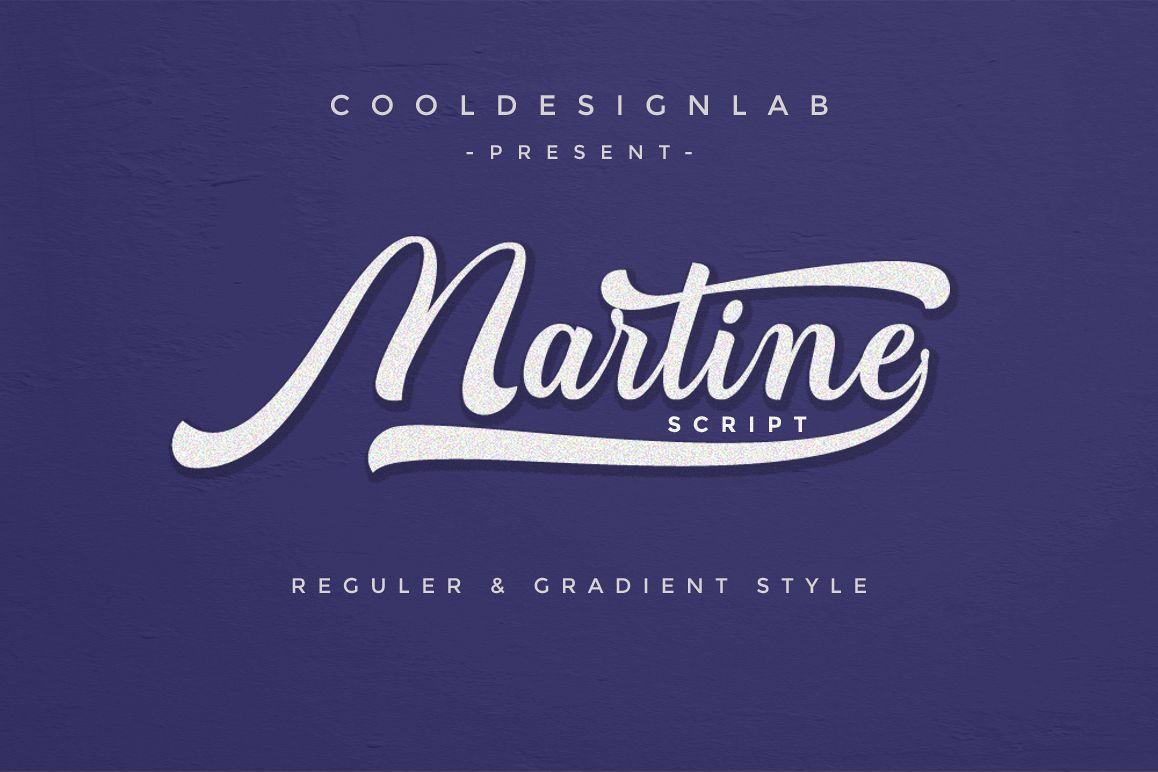 Martine Script example image 1