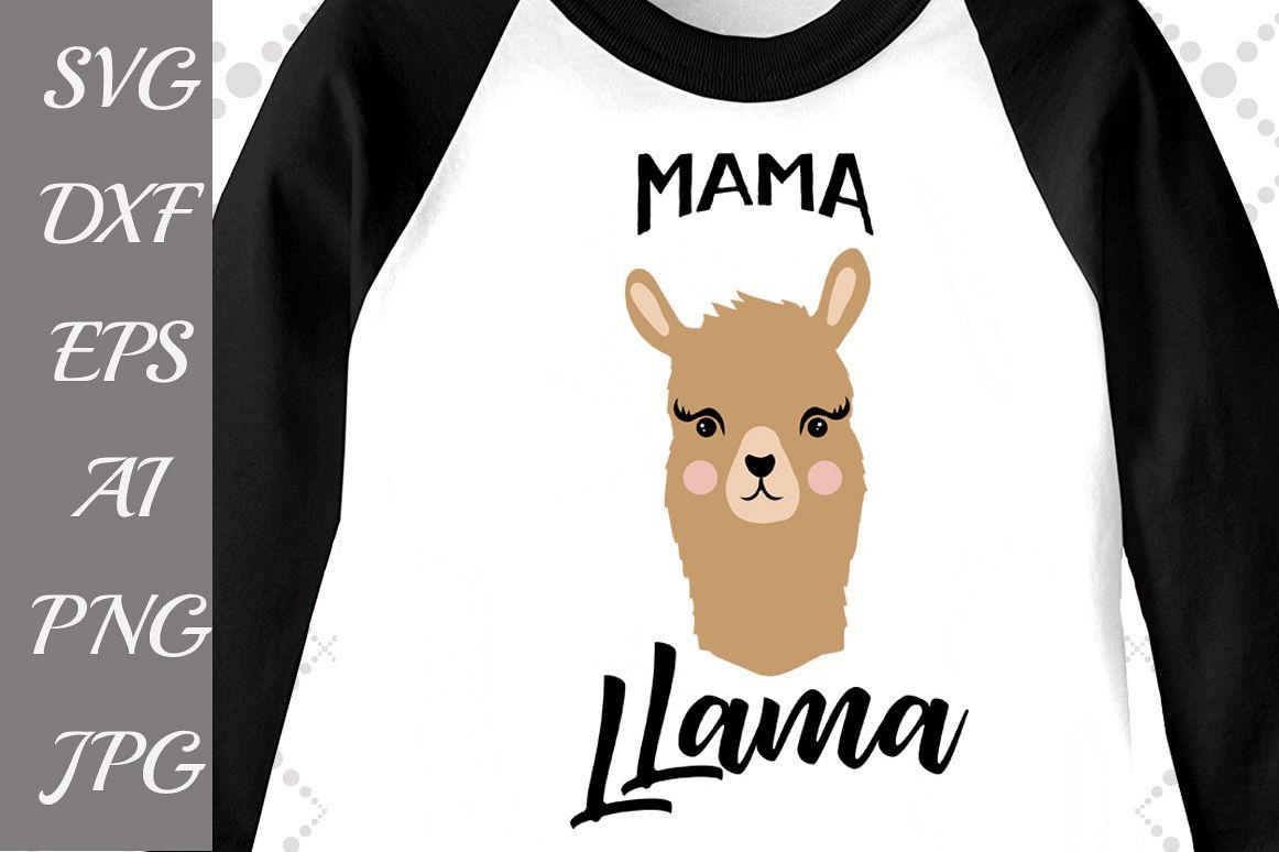 Mama LLama Svg example image 1