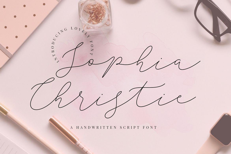 Sophia Christie Script example image 1
