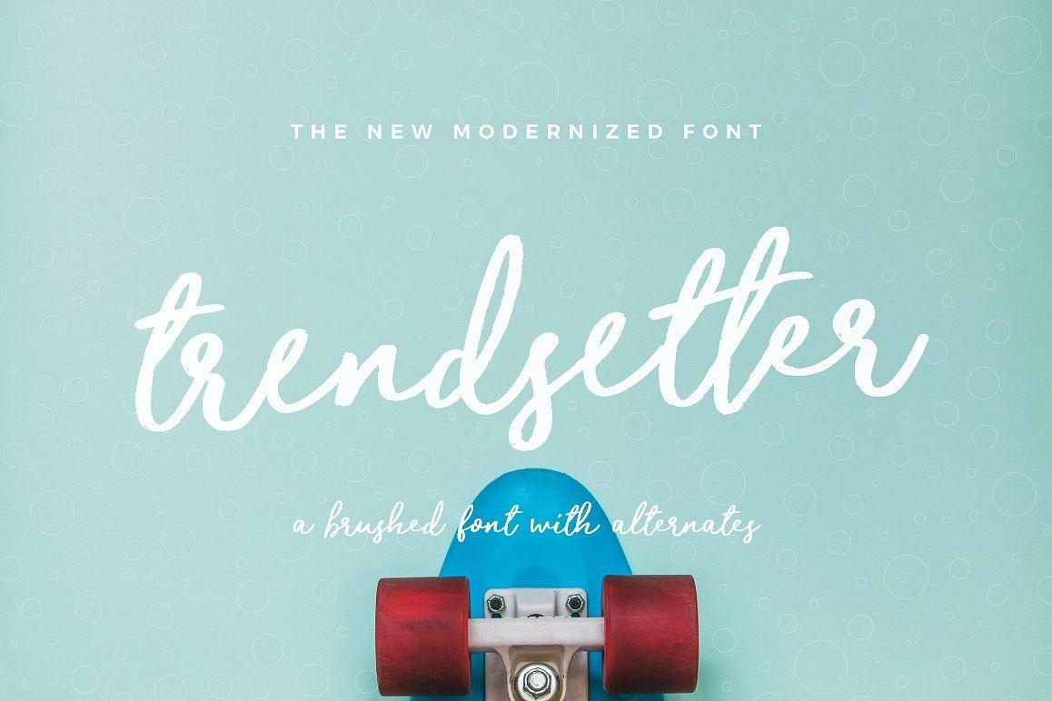 Trendsetter Font example image 1