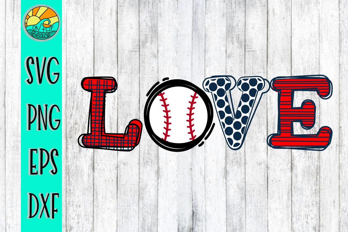 Download Love Baseball Softball Svg Dxf Eps Png 233190 Svgs Design Bundles