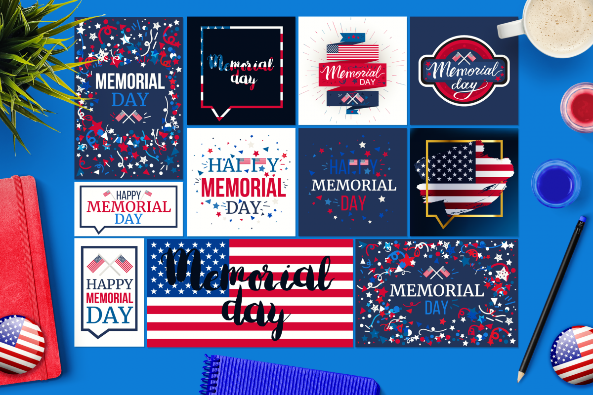 Memorial Day Banners example image 1