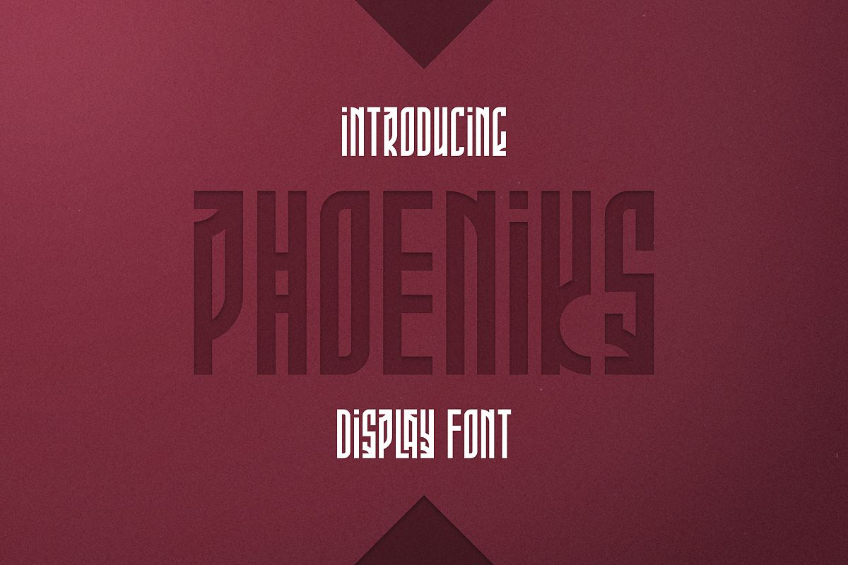 Phoeniks - Display font example image 1