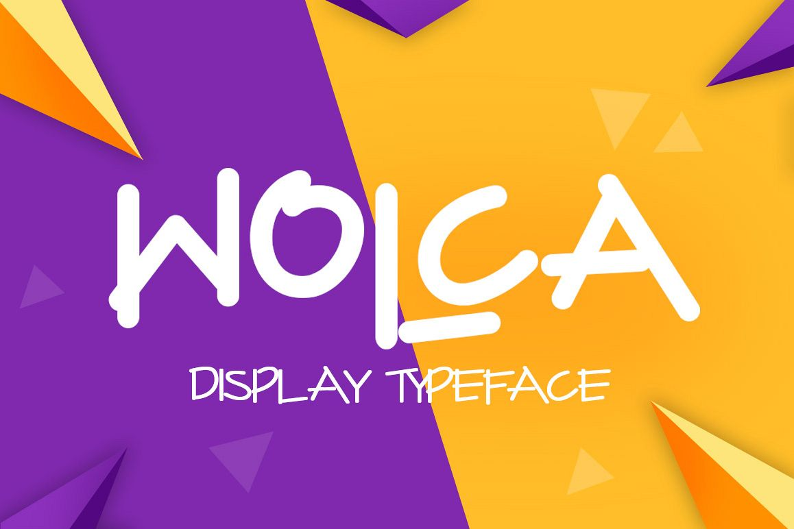 Wolca Display Font Trio example image 1