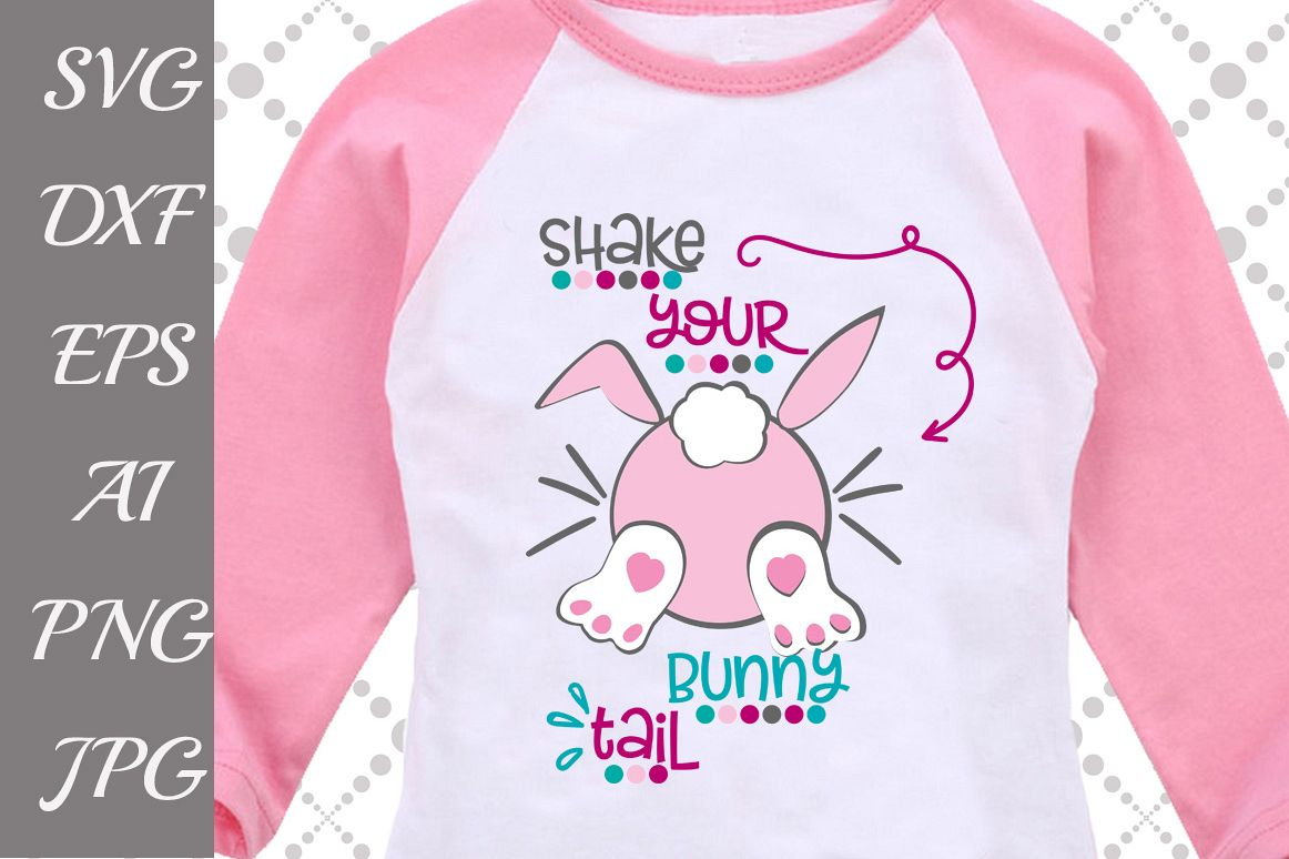 Shake your Bunny tail Svg example image 1