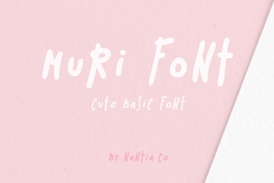 Muri the Handcrafted Font example image 1
