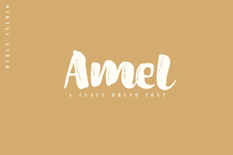 Amel Brush Font example image 1