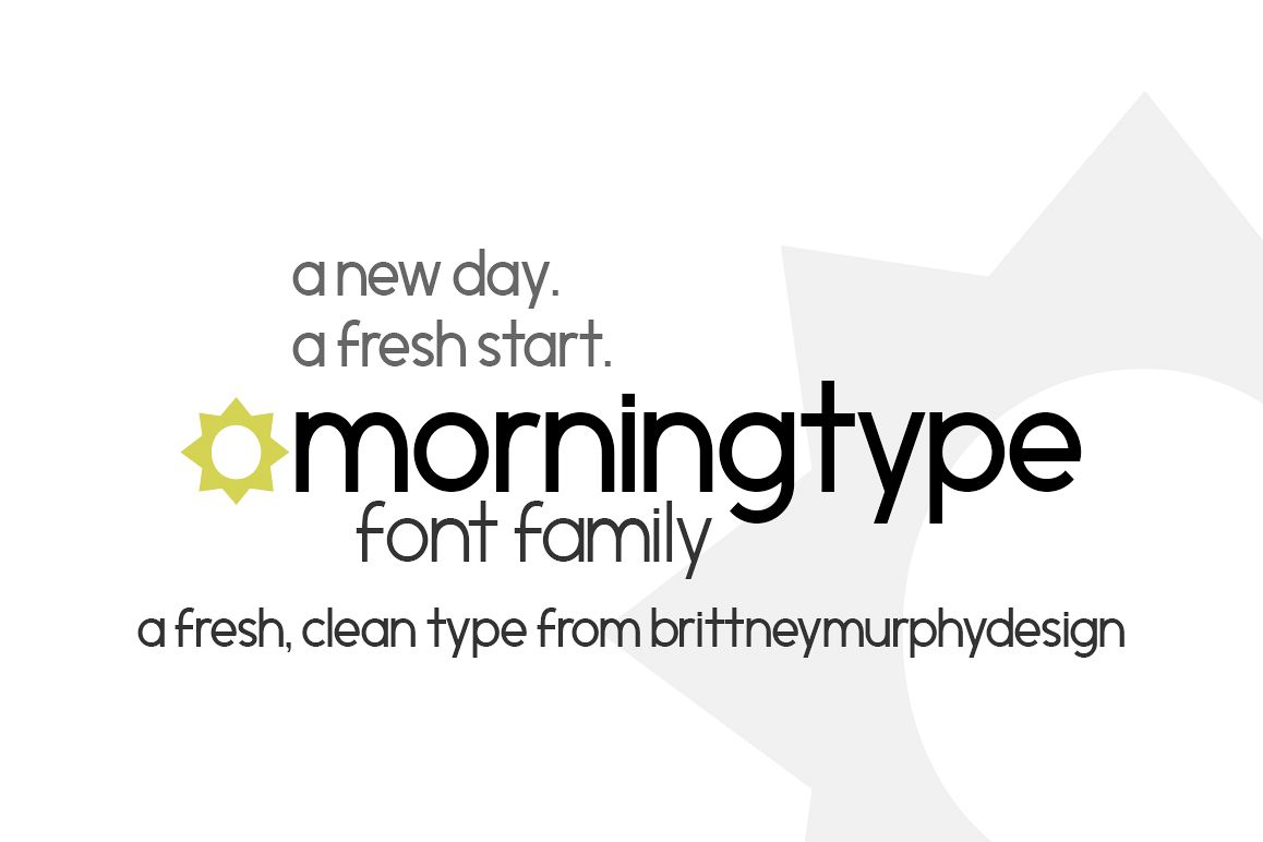 Morningtype example image 1