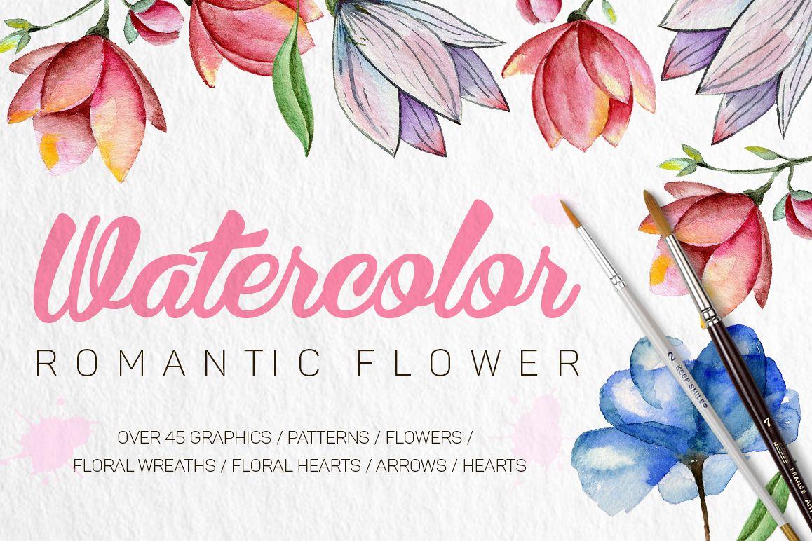 Romantic Flowers example image 1