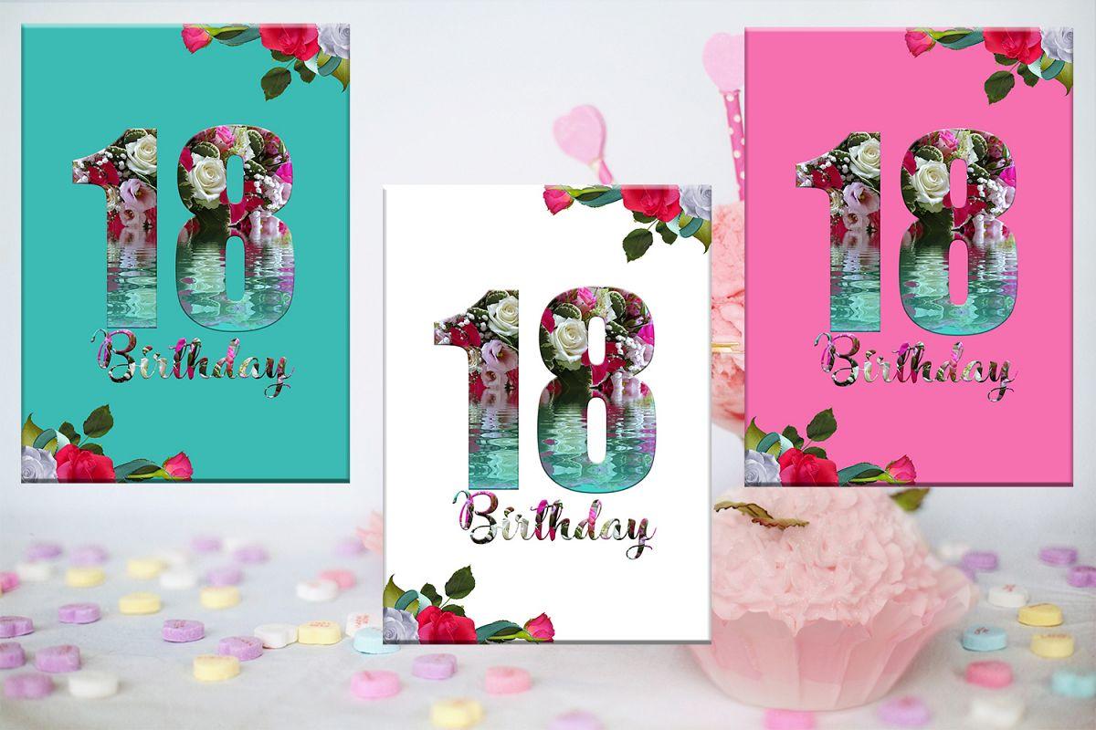 18th birthday card birthday girl flowers card girl party 18th birthday card birthday girl flowers card girl party example image 1 izmirmasajfo