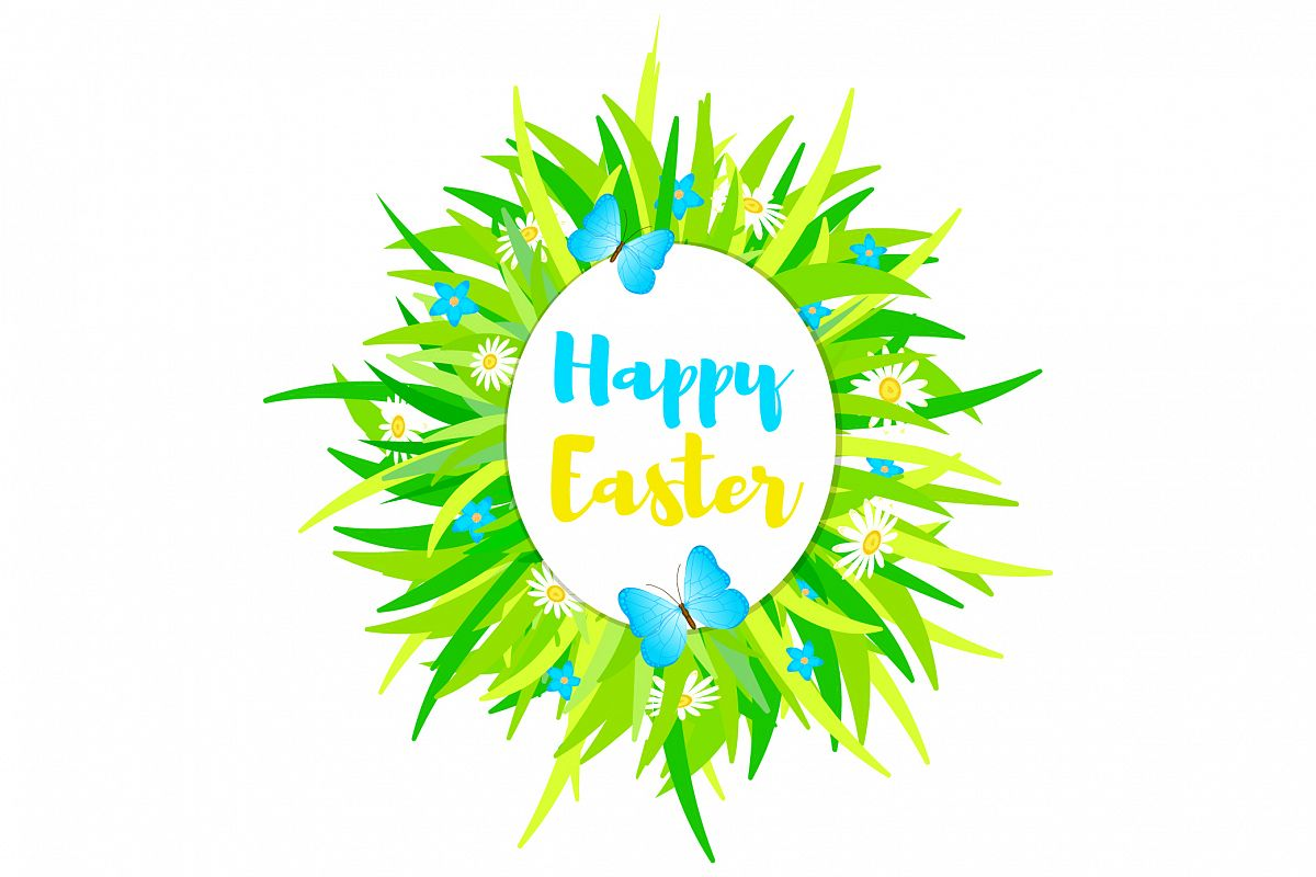 Happy Easter - EPS, Ai, JPG, PNG example image 1