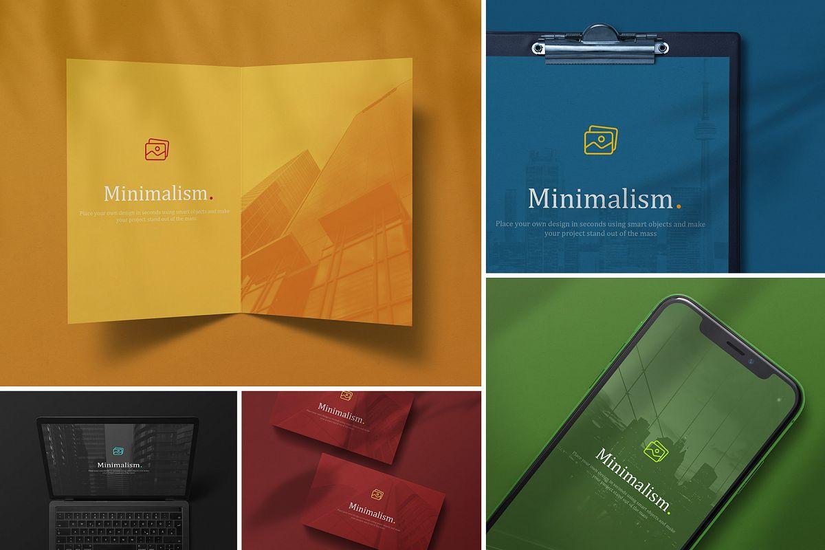 Minimalistic Branding Mockups example image 1