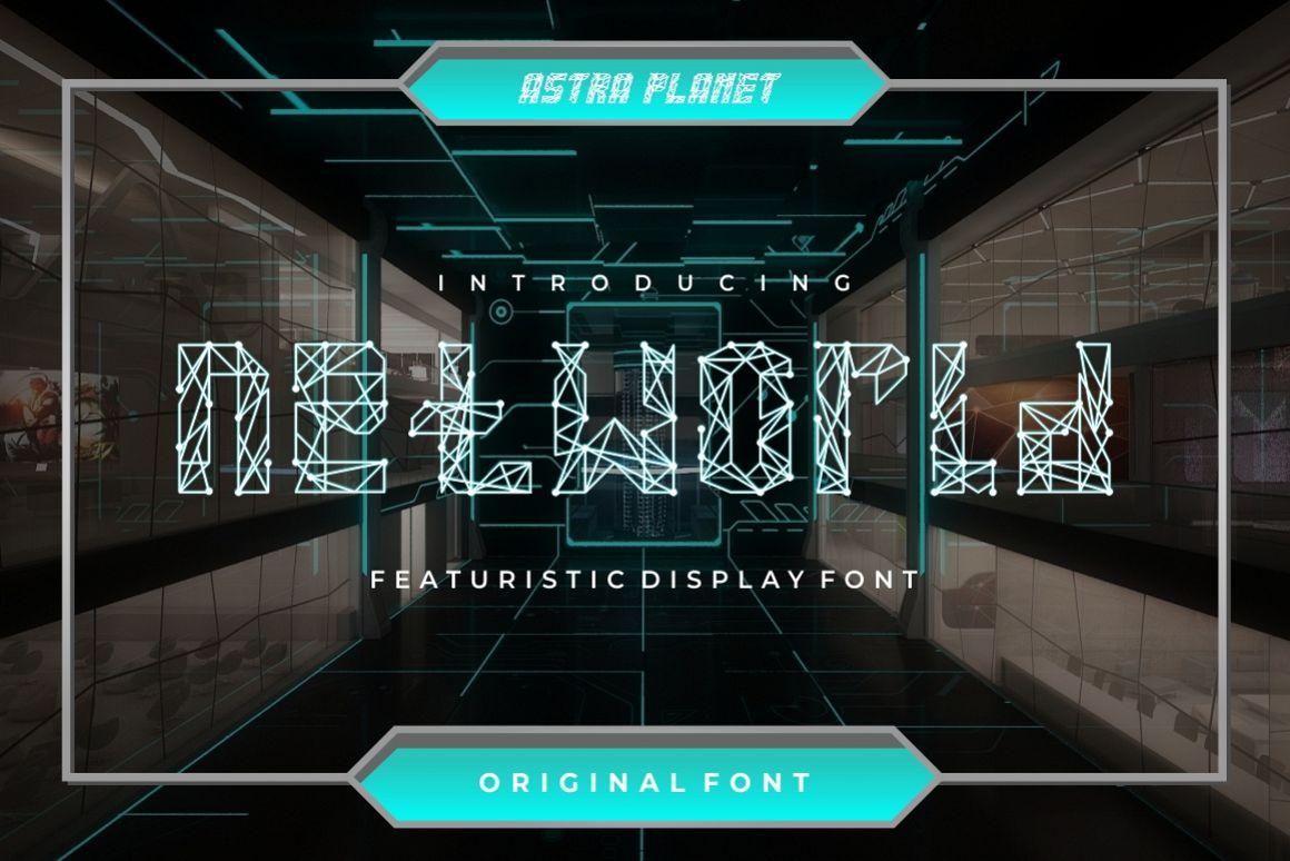 NETWORLD Typeface example image 1