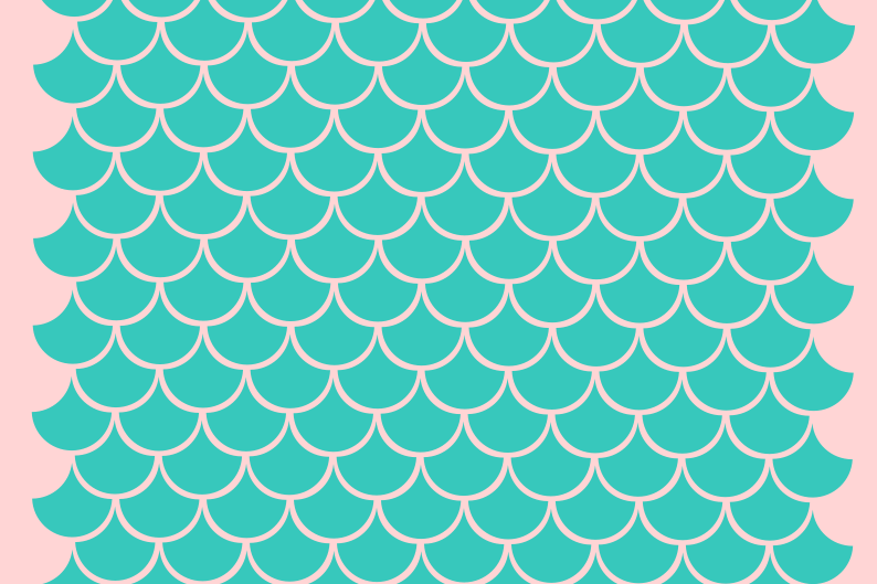 Mermaid scales svg example image 1