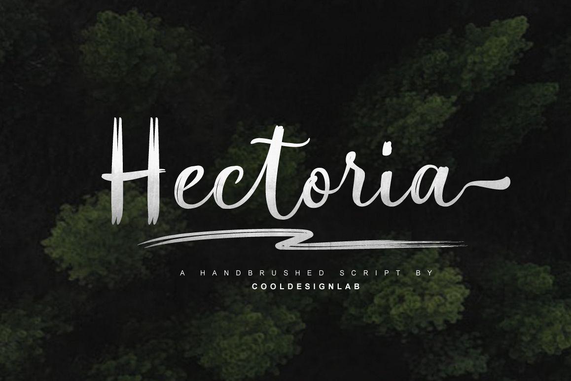 Hectoria Script example image 1