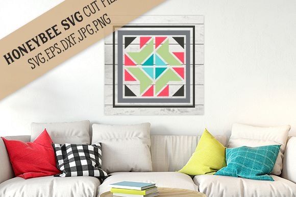 Madison Barn Quilt cut file example image 1