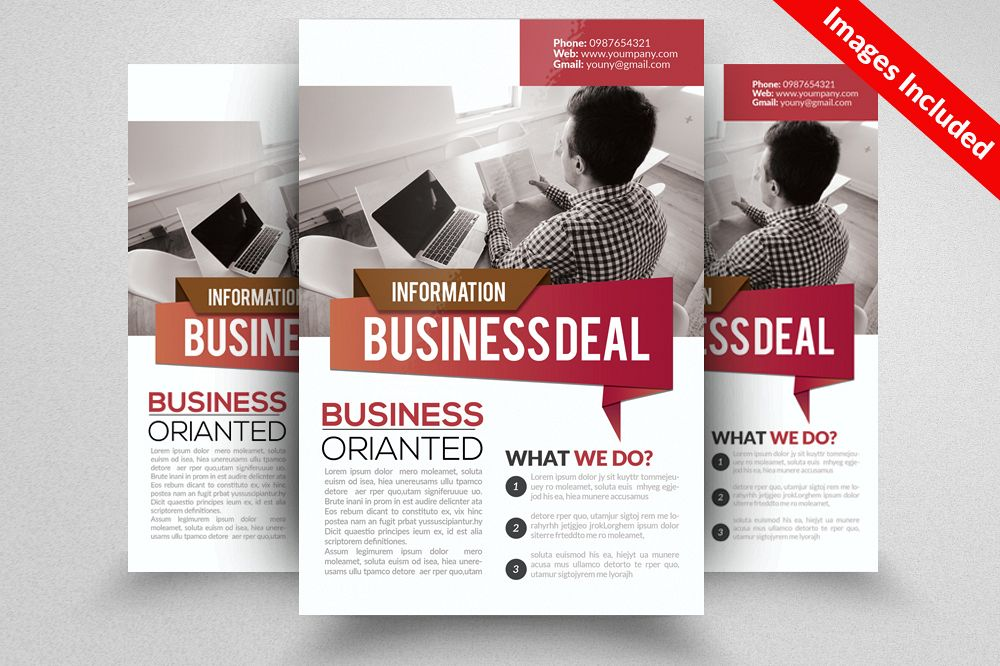 Business Solutions Consultant Flyer example image 1