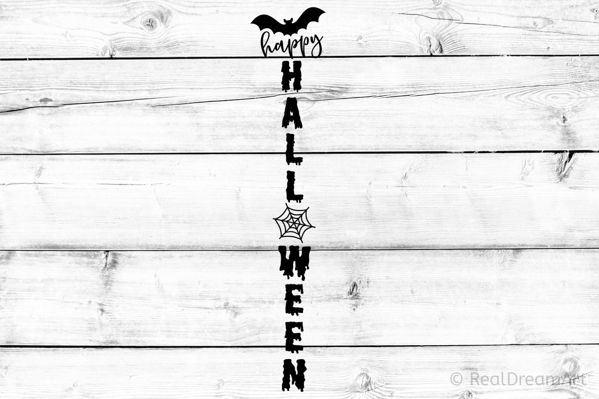 Happy Halloween SVG, DXF, PNG, EPS example image 1