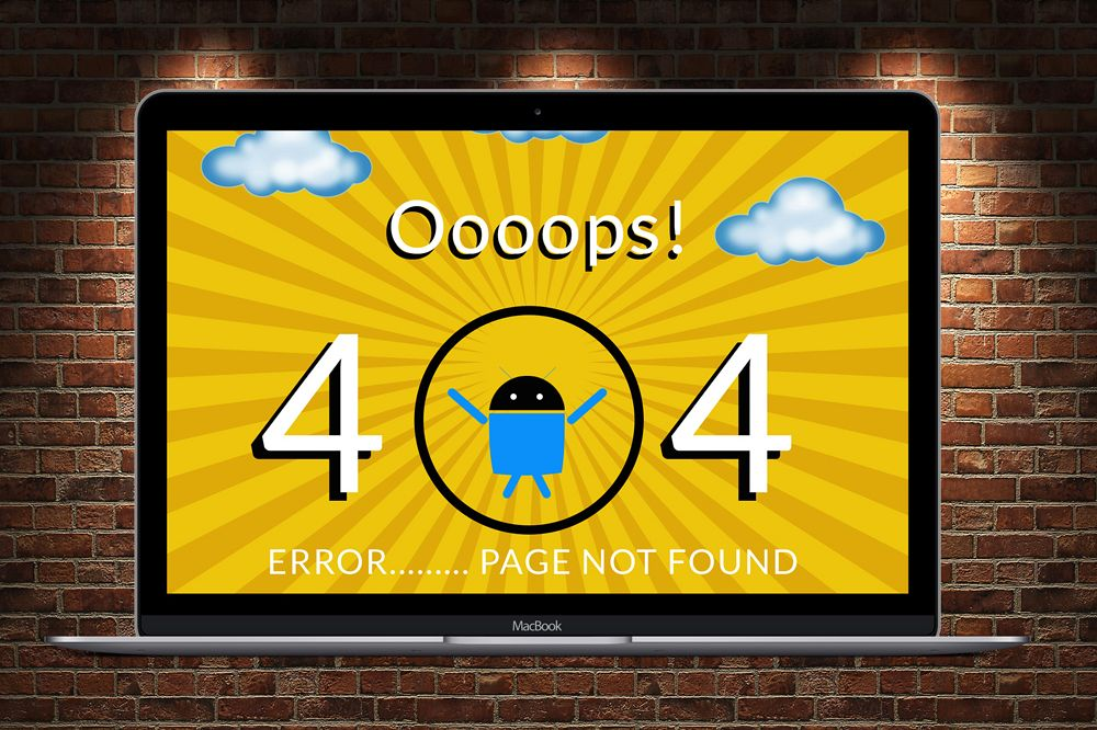 Not Found 404 Page  example image 1