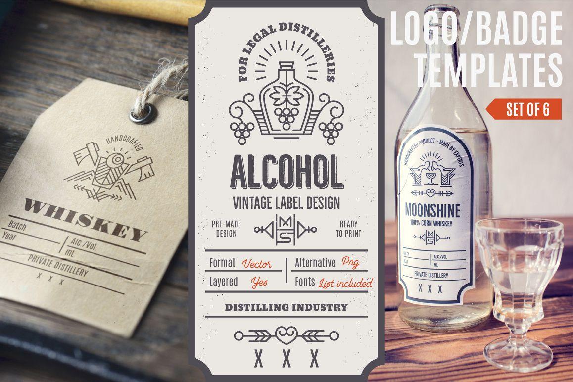 Distilling Industry: Vintage Labels example image 1