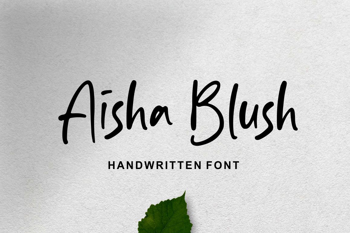 Aisha Blush example image 1