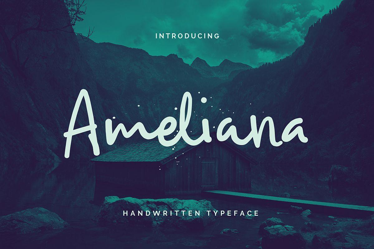 Ameliana Script example image 1