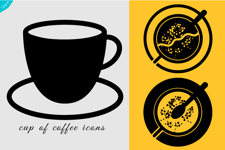 Cup of coffee icon example image 1