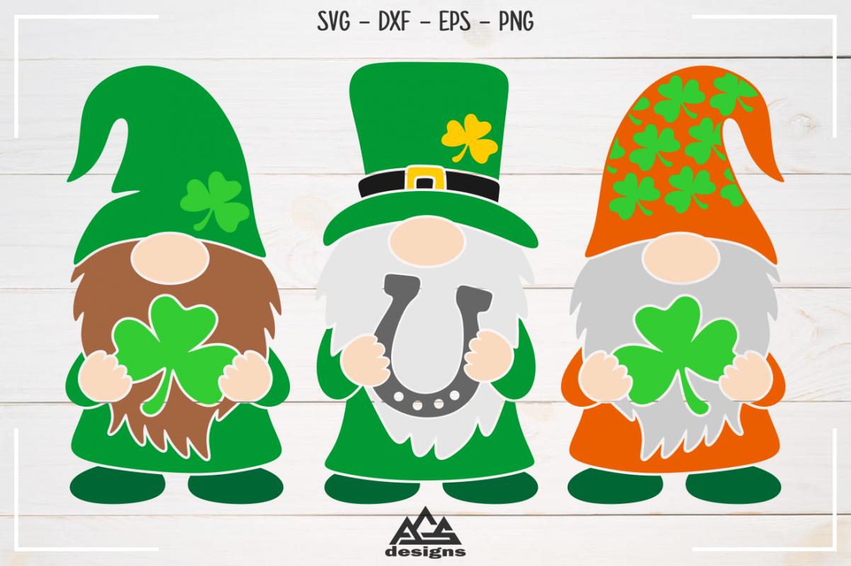 Download Gnome St Patricks Day Svg Design