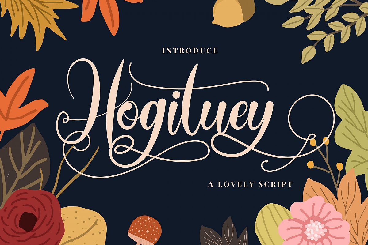 Hogituey | Candy Funny Font example image 1