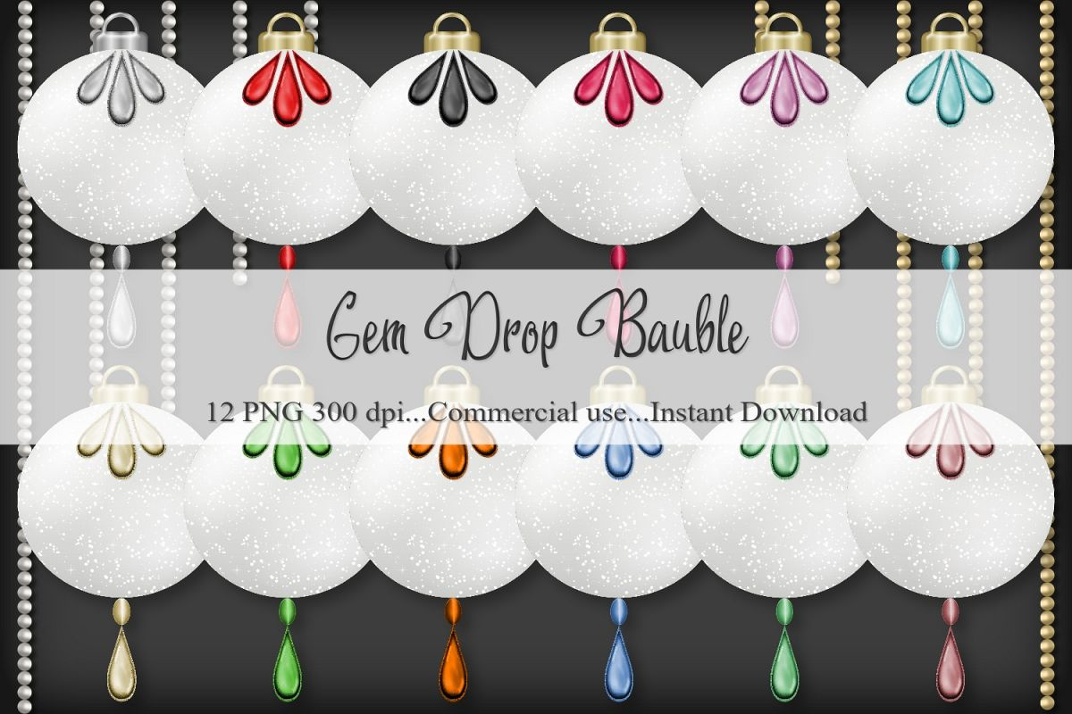 Gem Drop Bauble example image 1