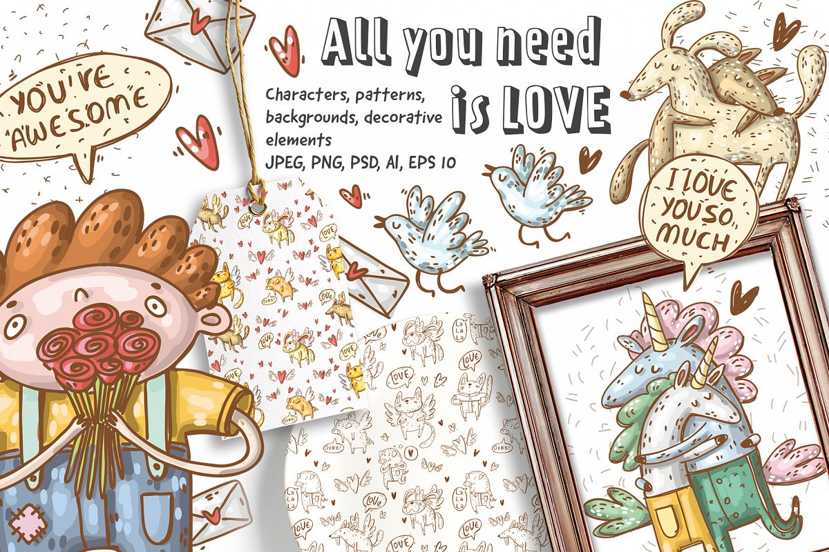 Love collection example image 1