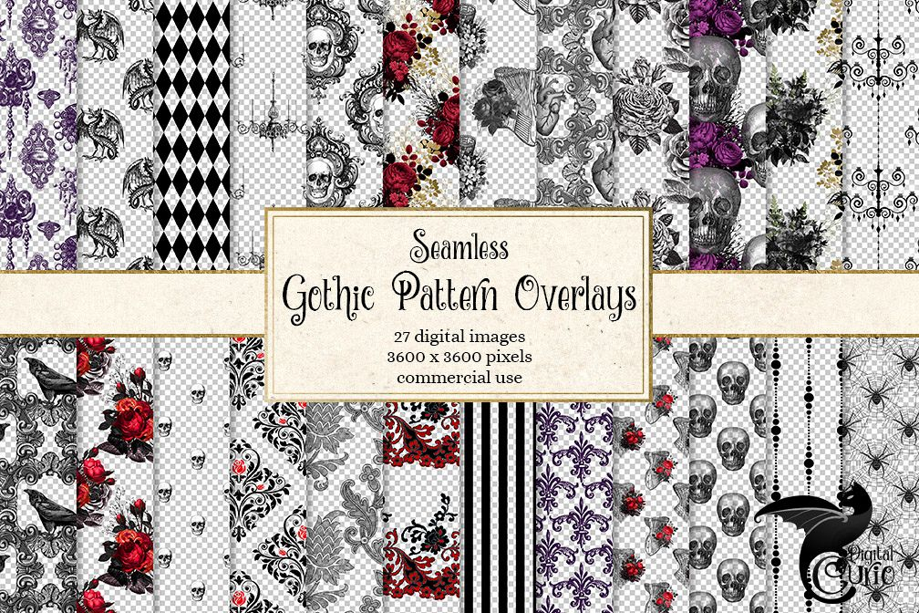 Gothic Pattern Overlays example image 1