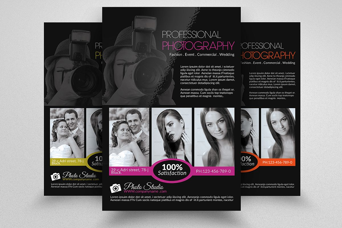 Photographer Marketing Materials – Promote Your Photos ... |Photography Business Flyer Ideas