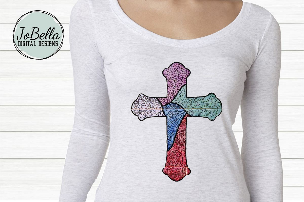Cross Sublimation Design example image 1