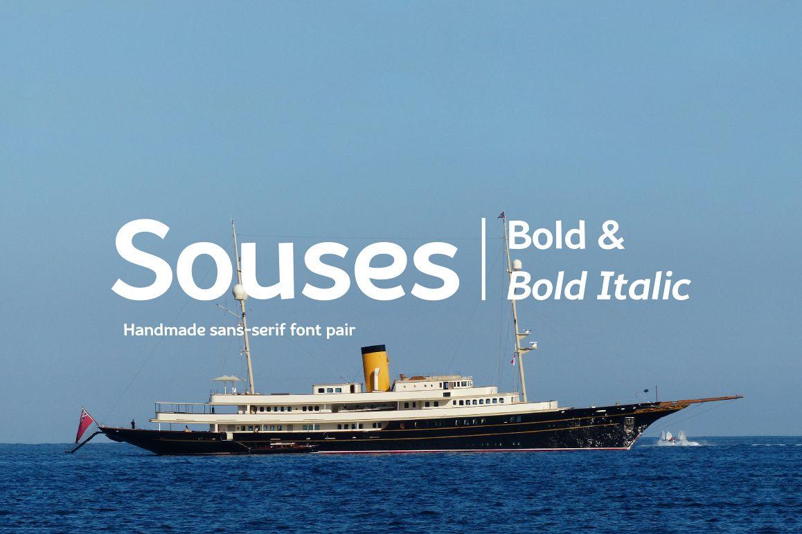 Souses — Bold & Bold Italic example image 1