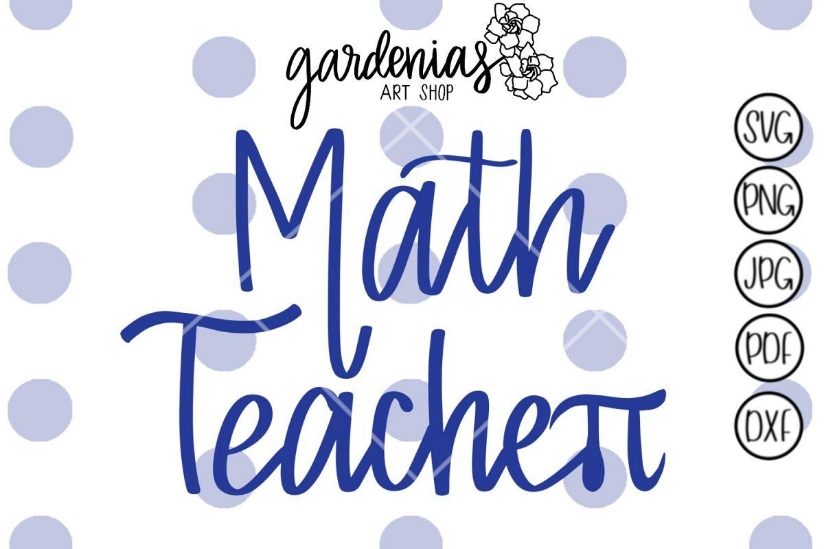 Math Teacher Pi Symbol