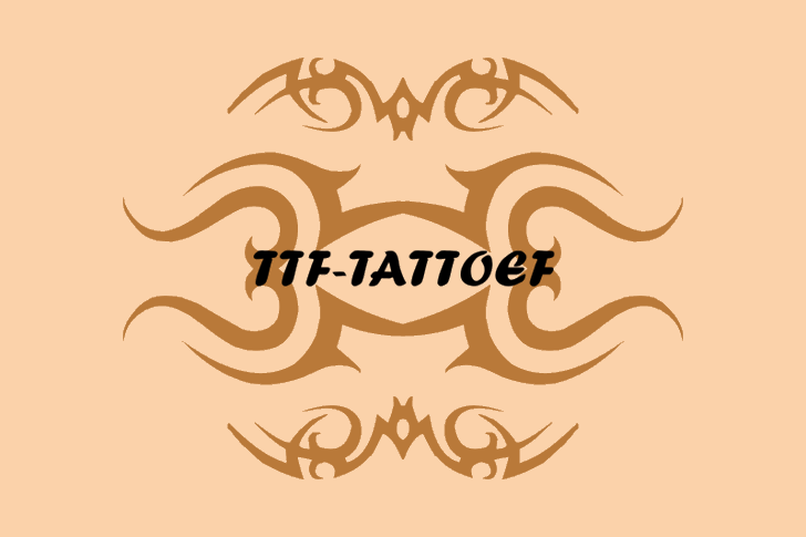 TTF Tattoef example image 1