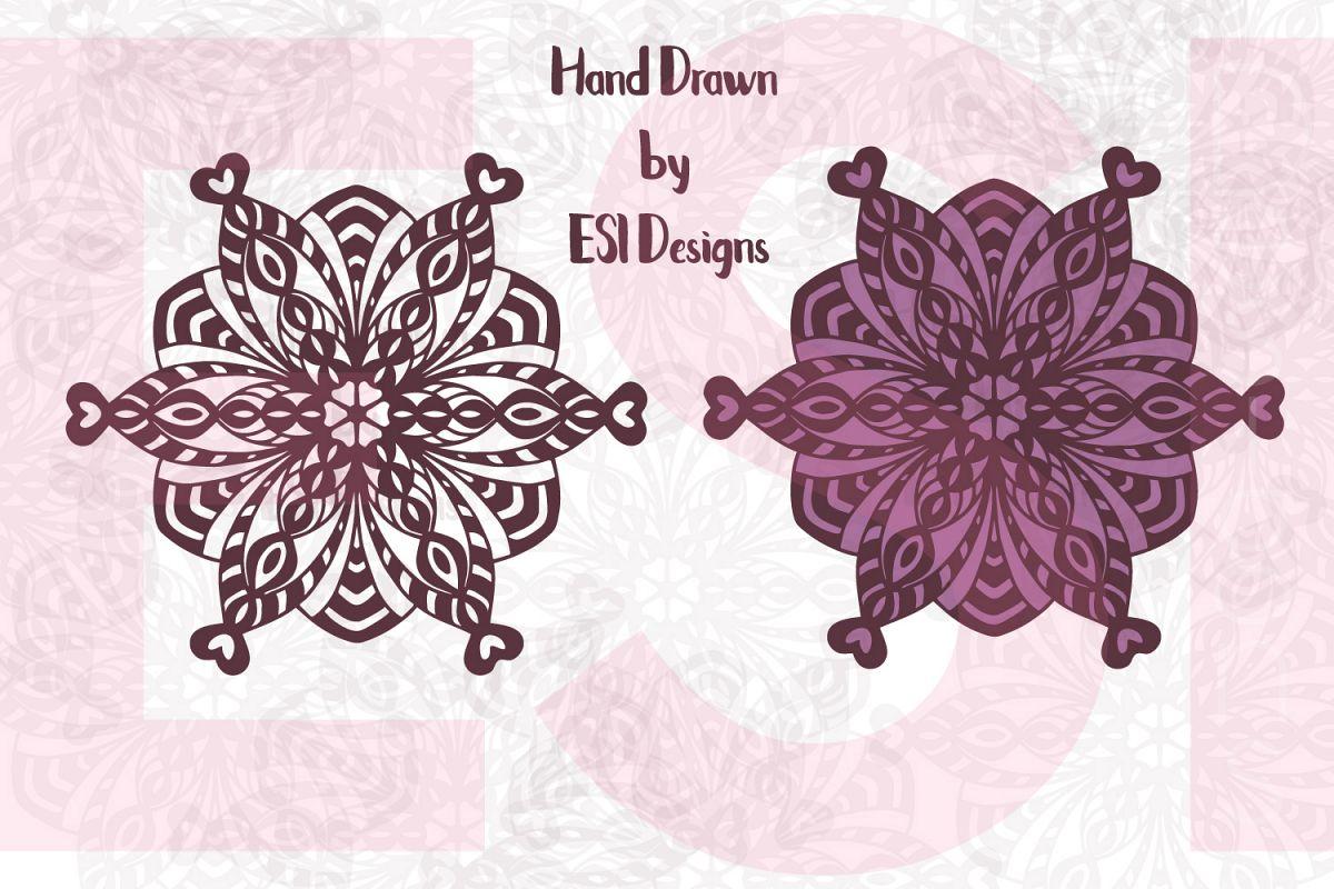Mandala Designs Set 1  example image 1