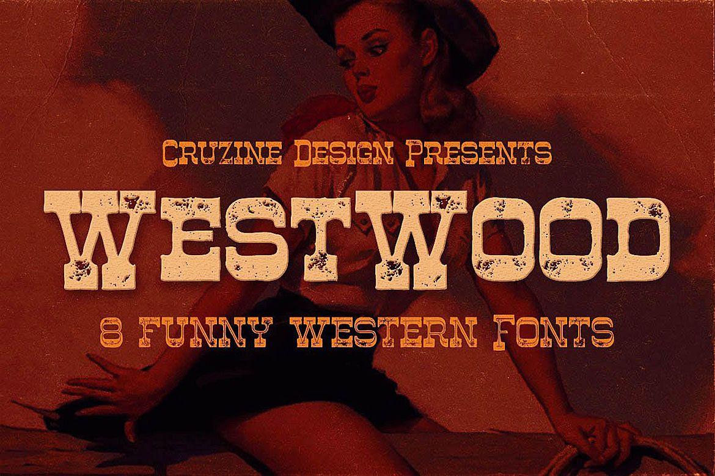 Westwood - Funny Western Font example image 1