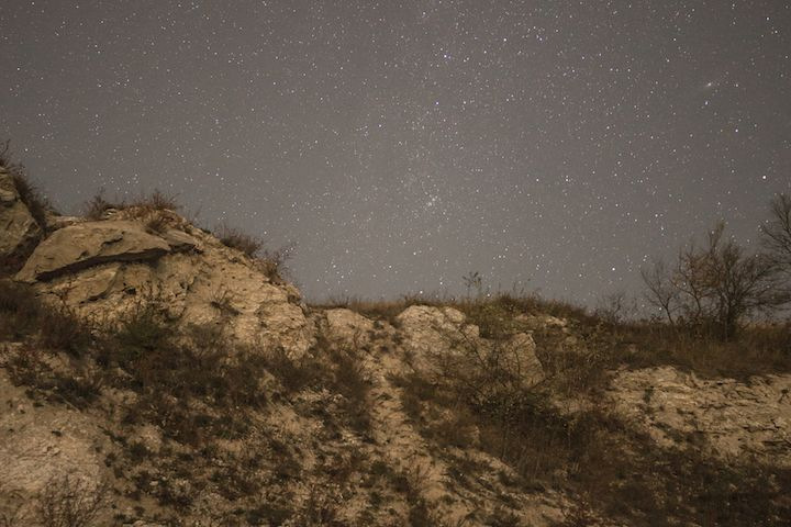 Astrophotography in the mountains	 example image 1