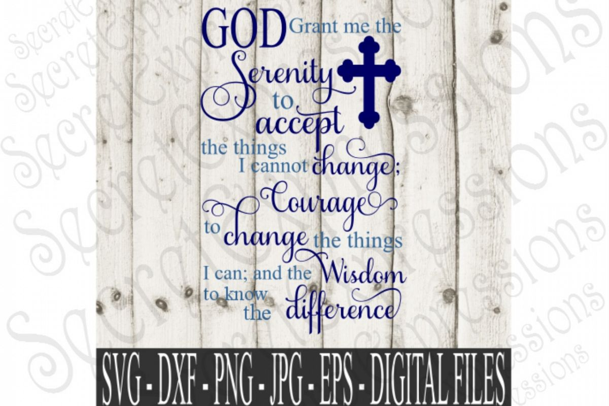 image relating to Free Printable Serenity Prayer known as God grant me the Serenity, Serenity Prayer