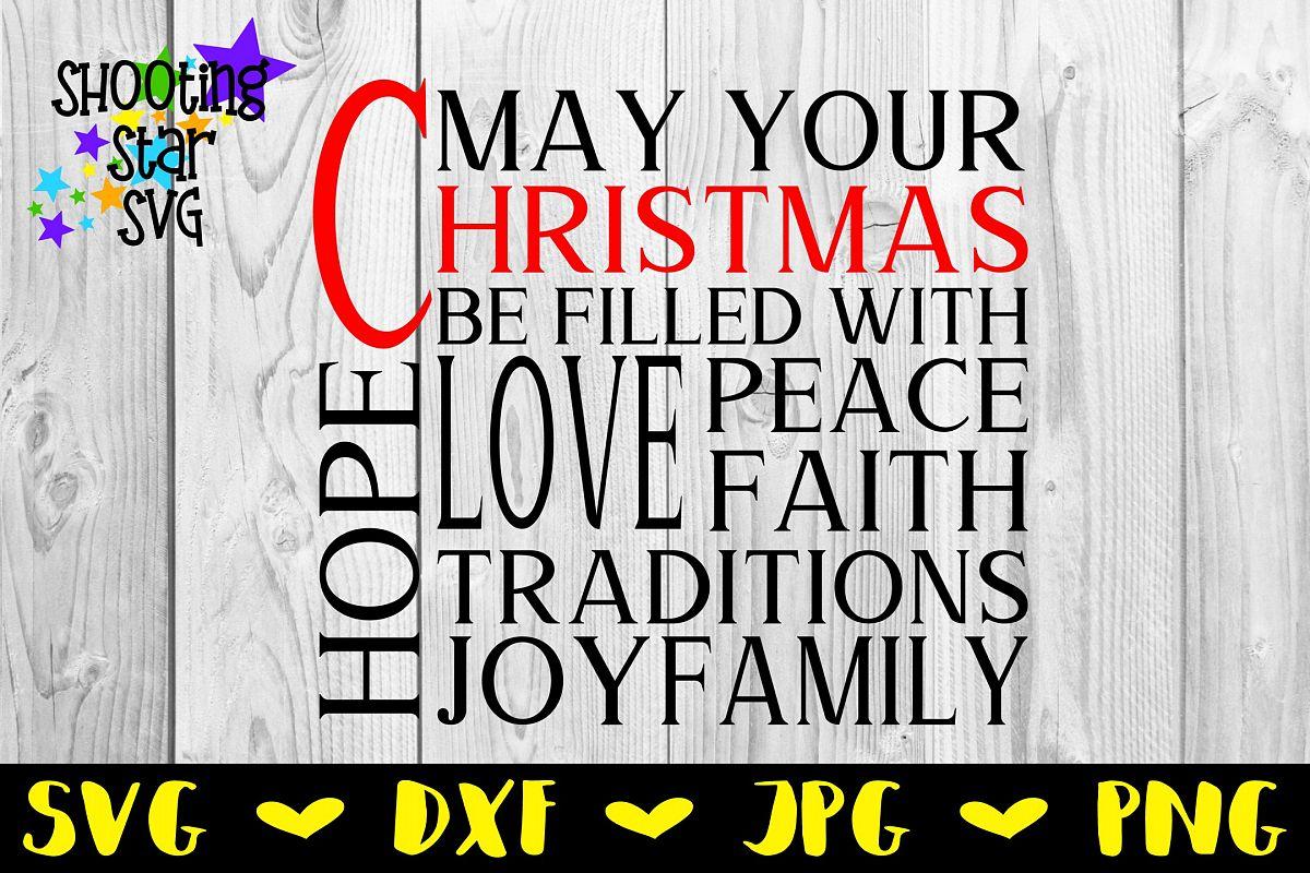 Christmas Subway Art Svg.Christmas Words Svg Christmas Subway Art Christmas Svg