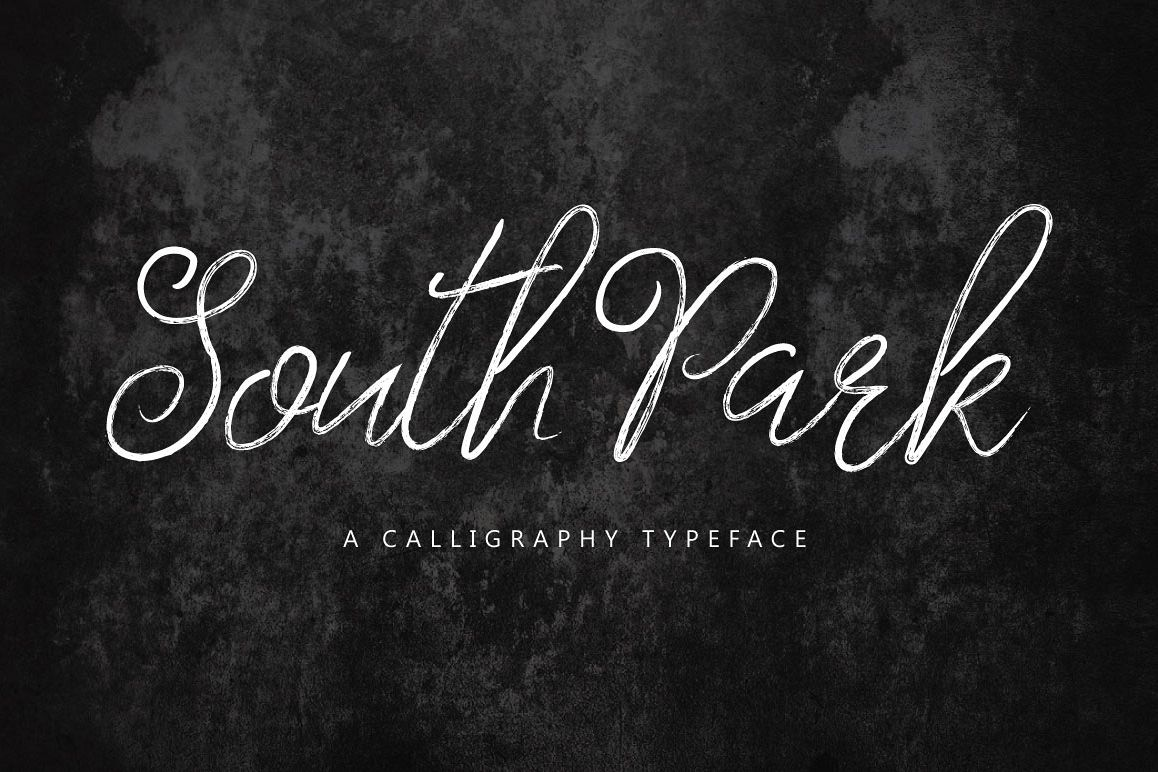 South Park Typeface example image 1