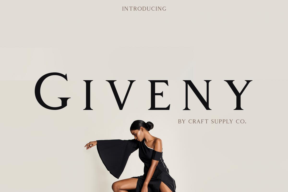 Giveny - Classy Serif Font example image 1