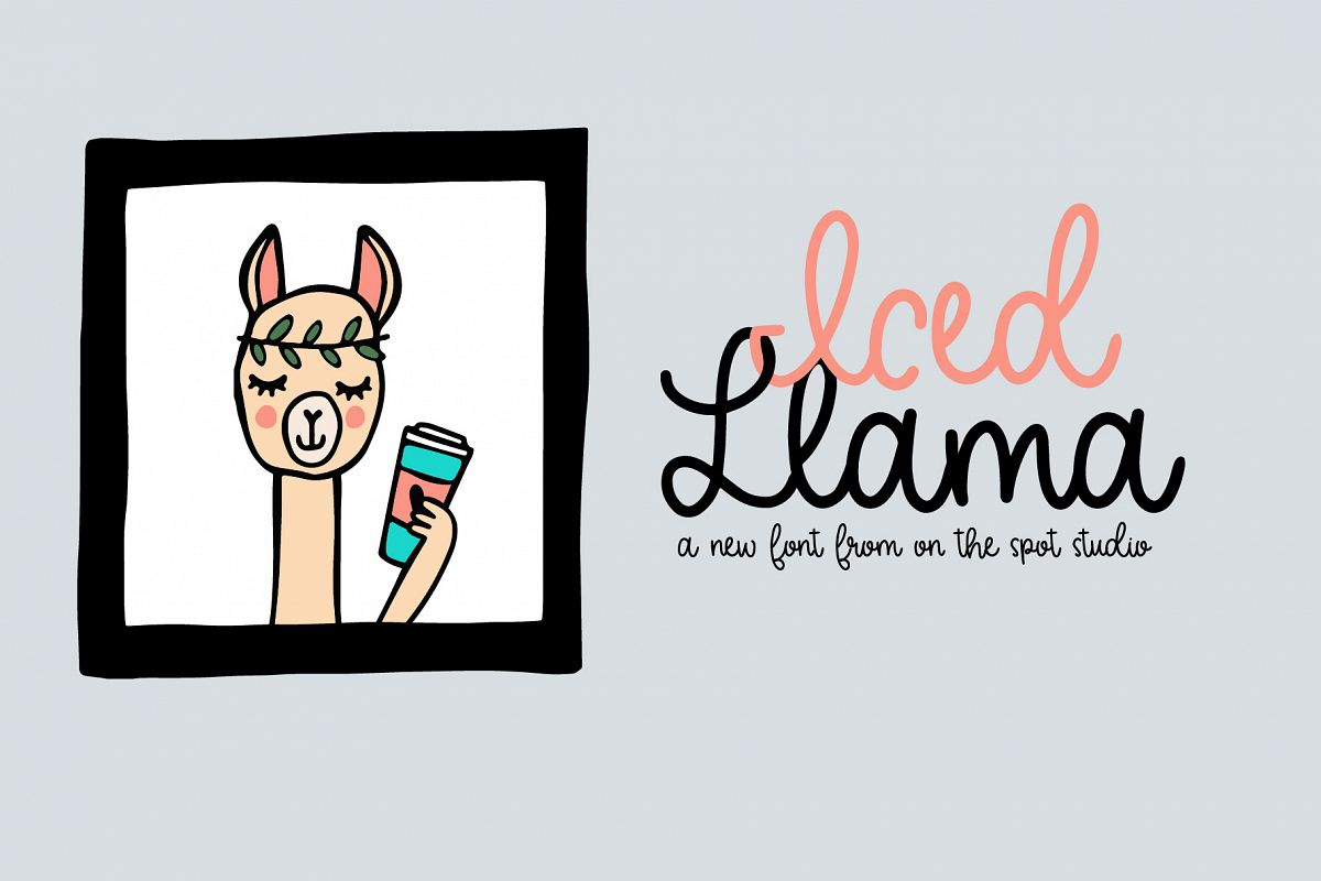 Iced Llama example image 1