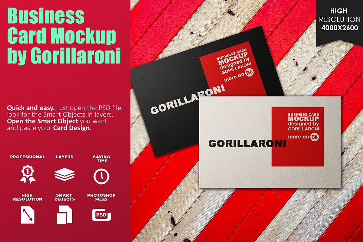 Business card mockup vol 10 by gorilla design bundles business card mockup vol 10 by gorillaroni example image reheart Gallery